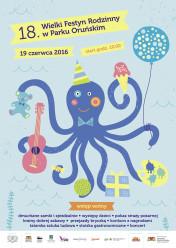 19 czerwca zapraszamy na XVIII Wielki Festyn Rodzinny w Parku Oruńskim